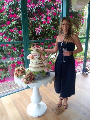 3 tier Wedding Cake (GF)