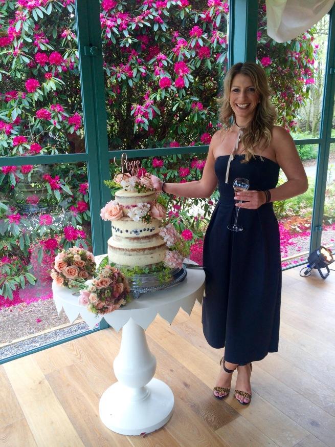 Three tiered Wedding Cake (GF)
