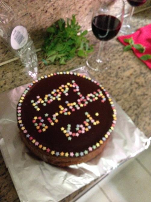 Brownie Base | Dark Choc Cheesecake | Dark Choc Ganache | Lollies (GF)