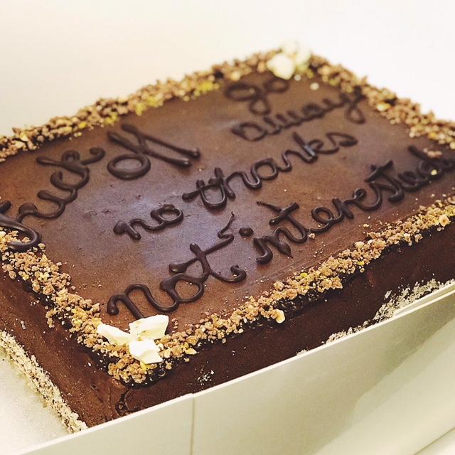 No Thanks Cake