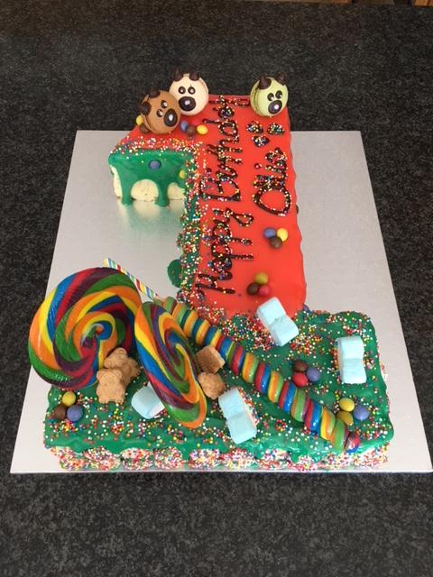 No 1 Birthday Cake