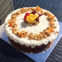 Dairy Free Carrot & Beetroot Cake