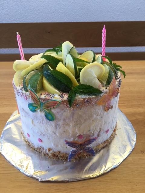 Gin & Tonic Ice Cream Cake
