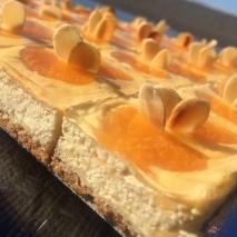 Baked Mandarin Cheesecake bites