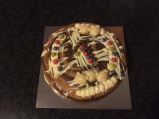 Banana & Choc Mud Cake