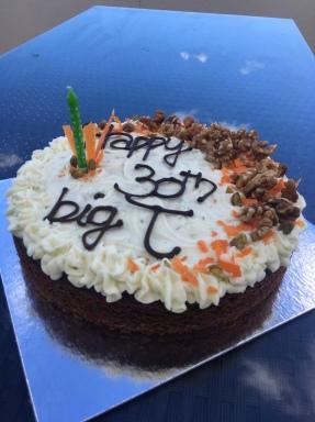 Carrot & Beetroot Cake