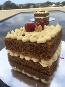 No Egg White Choc & Raspberry Wedding Cake Taster