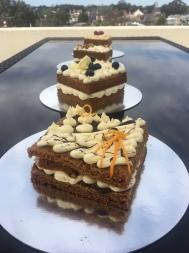No Egg Jaffa Wedding Cake Taster