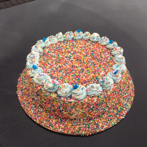 100&1000 Vanilla Sponge Cake
